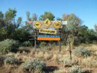 Interesting sign, Parachilna, South Australia
