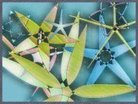 081418 Applique Star Flowers