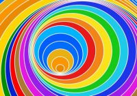 nice coloured spiral