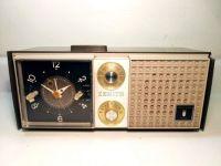 zenith model l519 clock radio