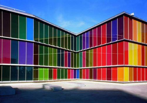 Multi-coloured Museum