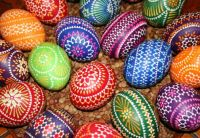 Easter Eggs, made by K. Hanusch