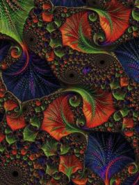 Fractral Art Pattern