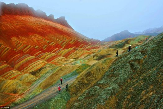 zhangye, gansu - china