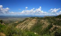 along the road to mesa verde