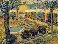 Patio del Hospital de Arles by Vincent van Gogh