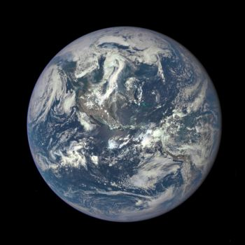 EPIC image of Earth