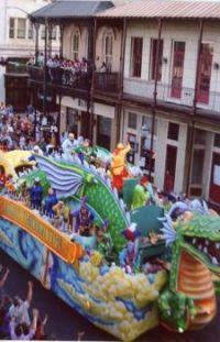 Tardy Gras Parade