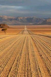 Road through the Namib