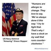 US Navy Admiral Grace Hopper