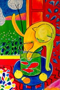 Cat with Red Fish by Henri Matisse