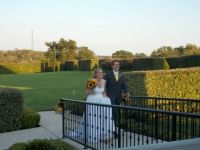 Weddings: 2013, my grandson and his new bride, both graduates of Texas A&M, in a beautiful Texas hill country setting
