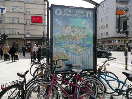 Götgatan in Stockholm, Sweden
