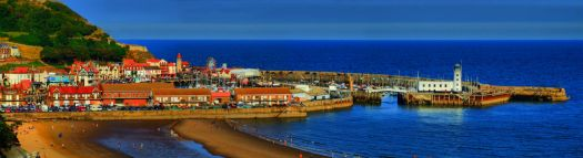 HDR of a Scarborough Panorama - 3rd Sep 2010