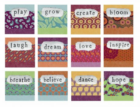word mosaic