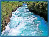 Rapids above the Huka Falls.