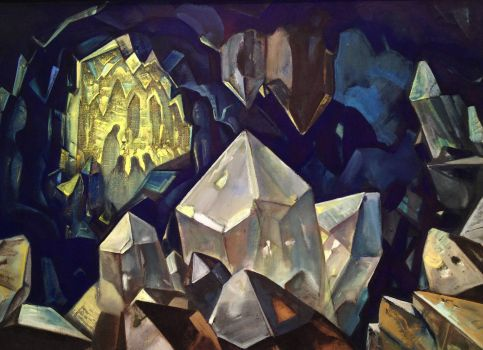 Most Sacred - Treasure of the Mountain, by Nicholas Roerich