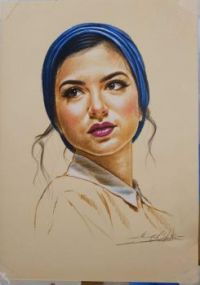 Ahmed__Shokry The Girl in the Blue Scarf