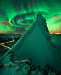 """In Green Company: Aurora over Norway"""