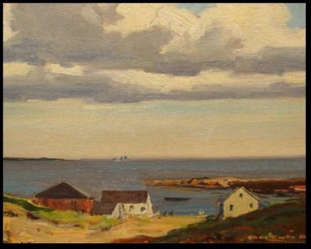 Summer Clouds, Maine by Charles Curtis Allen