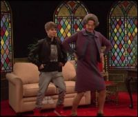 Dancing with Justin Beiber