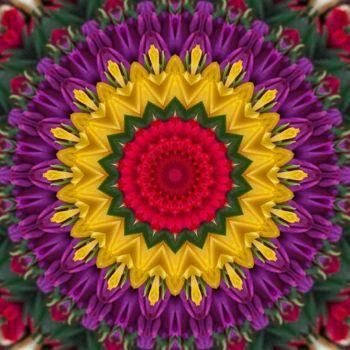 kaleidoscope 320 yellow and purple small