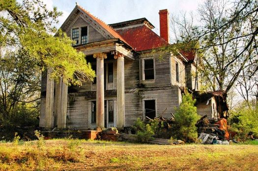 Abandoned Mansion, South Georgia
