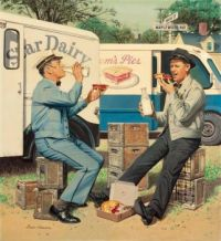 Mutually Beneficial Friendship, Saturday Evening Post