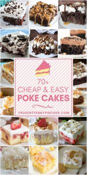 Cheap and Easy Poke Cakes