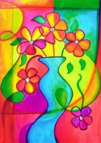 Abstract Flower Vase