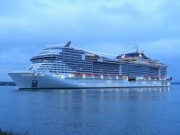 MSC Grandiosa at  Southampton