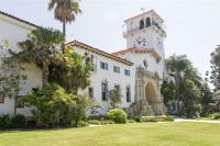 Historic Santa Barbara CA Courthouse