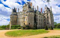 Chateau de Brissac, Maine-et-Loire, France