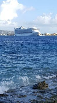 Caribbean Princess in Bonaire, 2017