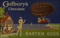 Themes Vintage ads - Cadbury`s Chocolate Easter Eggs