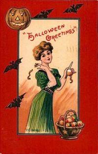 Halloween Greetings, 1910,