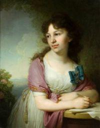 Vladimir Borovikovsky Catherine Alexeevna Dolgorukova 1798
