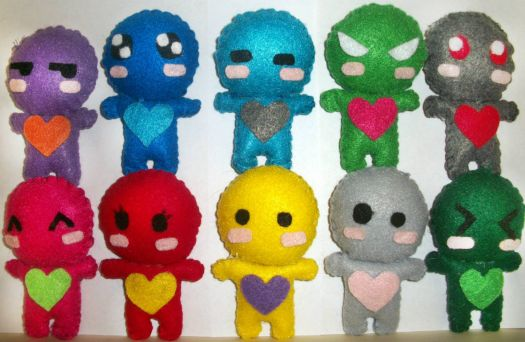 colorful_heart_plushies_by_melz505-d4gc35e