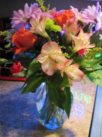 Flowers From Sweet Son and his Wife. :)