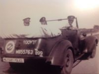 Military Police on patrol in Egypt North Africa