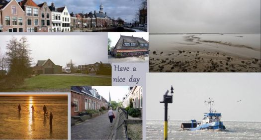 Friesland, towns and villages, Holwerd