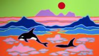 Orcas: by Ted Harrison