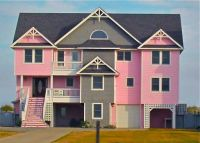 Verry pink house