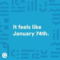 Never ending January