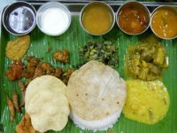 South Indian Vegetarian set meal