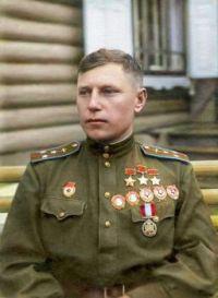 WWII Soviet figher Ace Alexander Ivanovich Pokryshkin