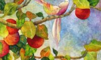 Birds on Apple Tree Hailey Herrera