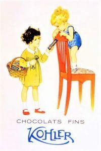 Themes Vintage ads - Kohler Chocolat