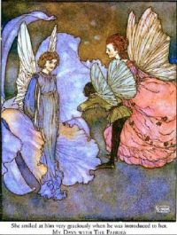 My Days with the Fairies  ~  Edmund Dulac