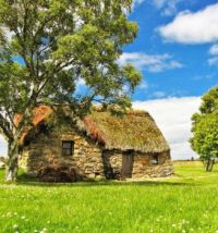 Restored 300+ Year Old Farmhouse cottage in Scotland....
